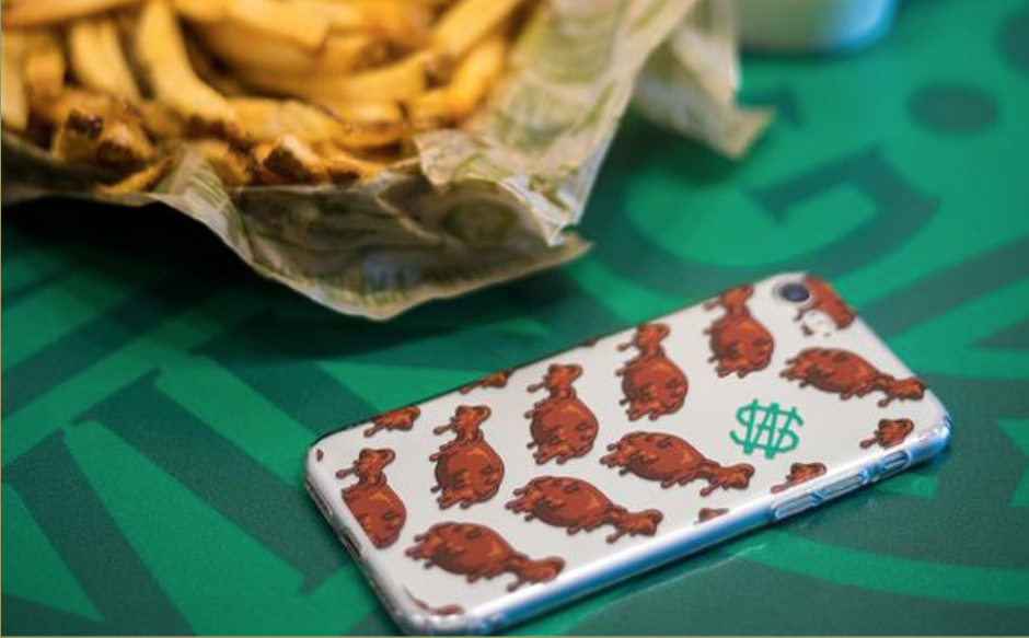 Wingstop phone case