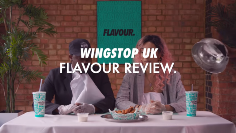 Wingstop UK Flavour Review with Snoochie Shy and Sideman: New location at 138 Shaftesbury Avenue.