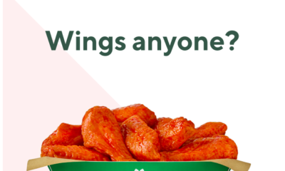 Wingstop Delivery Begins National Rollout with DoorDash QSR Magazine - November 26, 2018