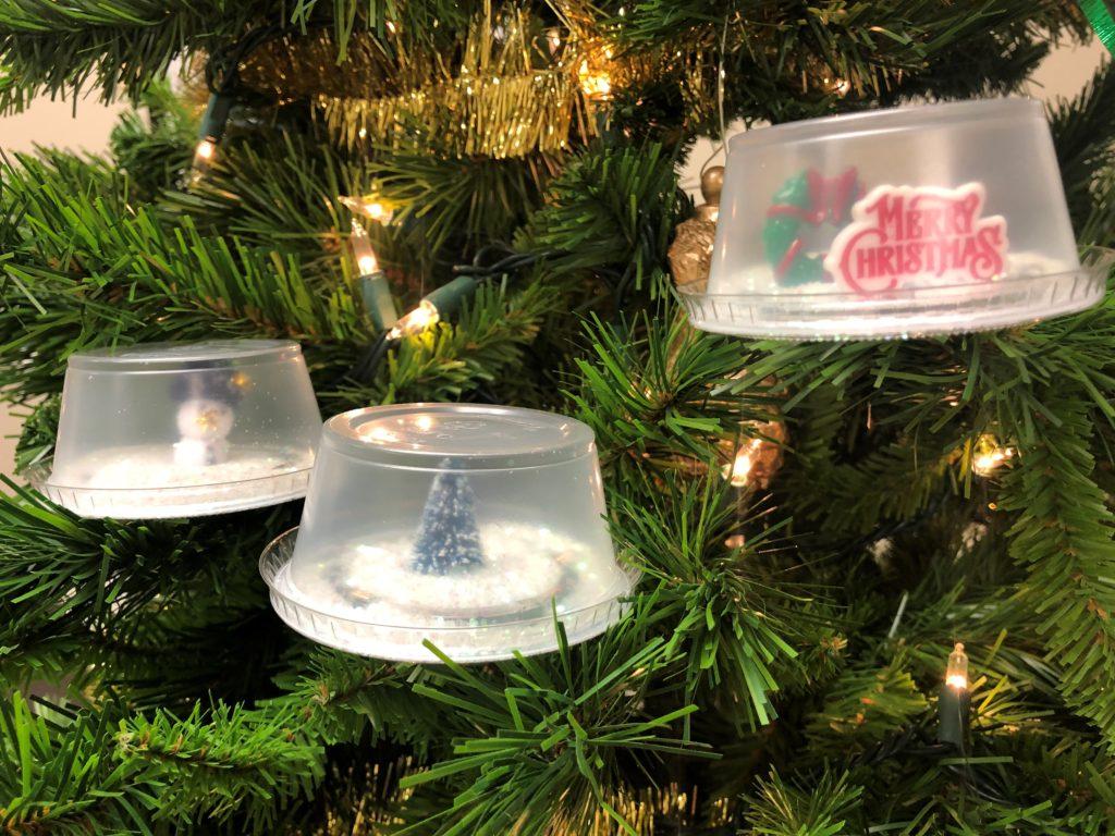 Mini snow globe examples