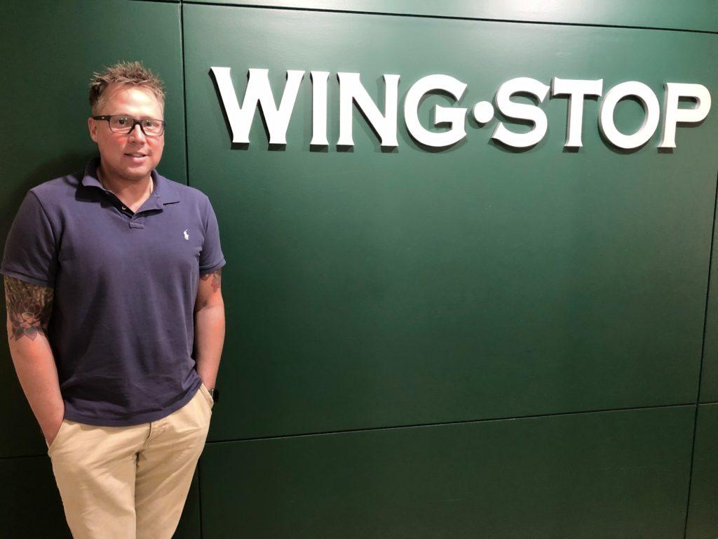 Cody Thornton. Wingstop's Team Member of the Quarter