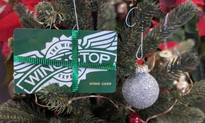 Wingstop Gift Cards to All, and to All a Good Night! Why the gift of flavor is the best gift you can give.