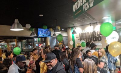 Grand Pre-Opening: San Bernardino Wingstop San Bernardino Wingstop hosted more than 600 guests for VIP pre-opening event.