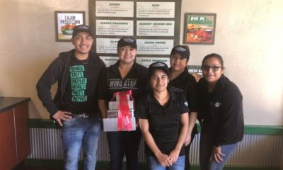 Wingstop Recognizes Team Members With Fresh-baked Cookies and Treats Santa's not the only person deserving of sweet treats this holiday season.