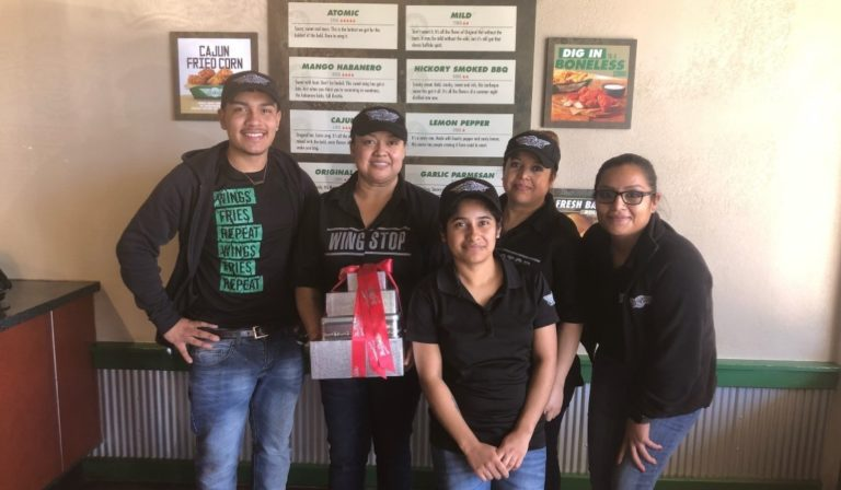 Wingstop team