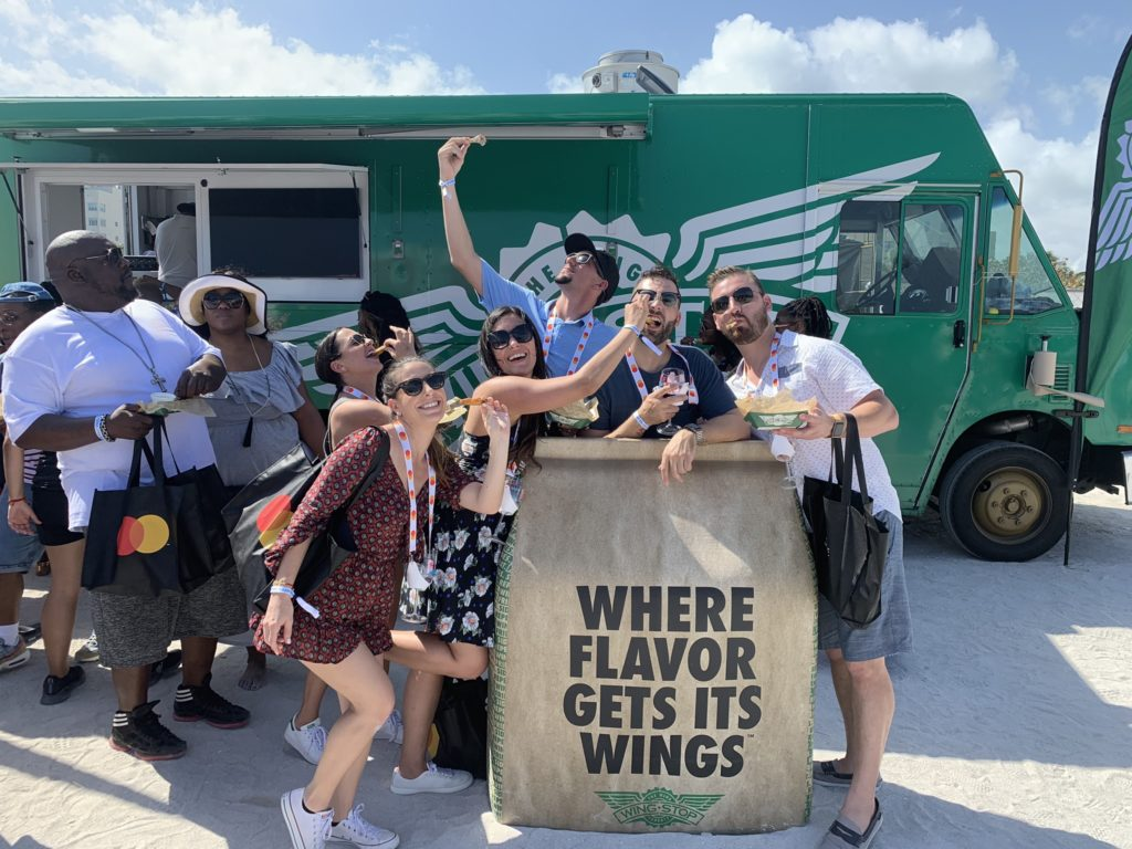 SOBEWFF Wingstop picture