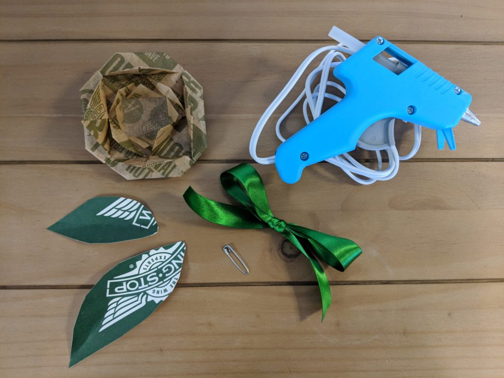 Wingstop DIY boutonniere supplies