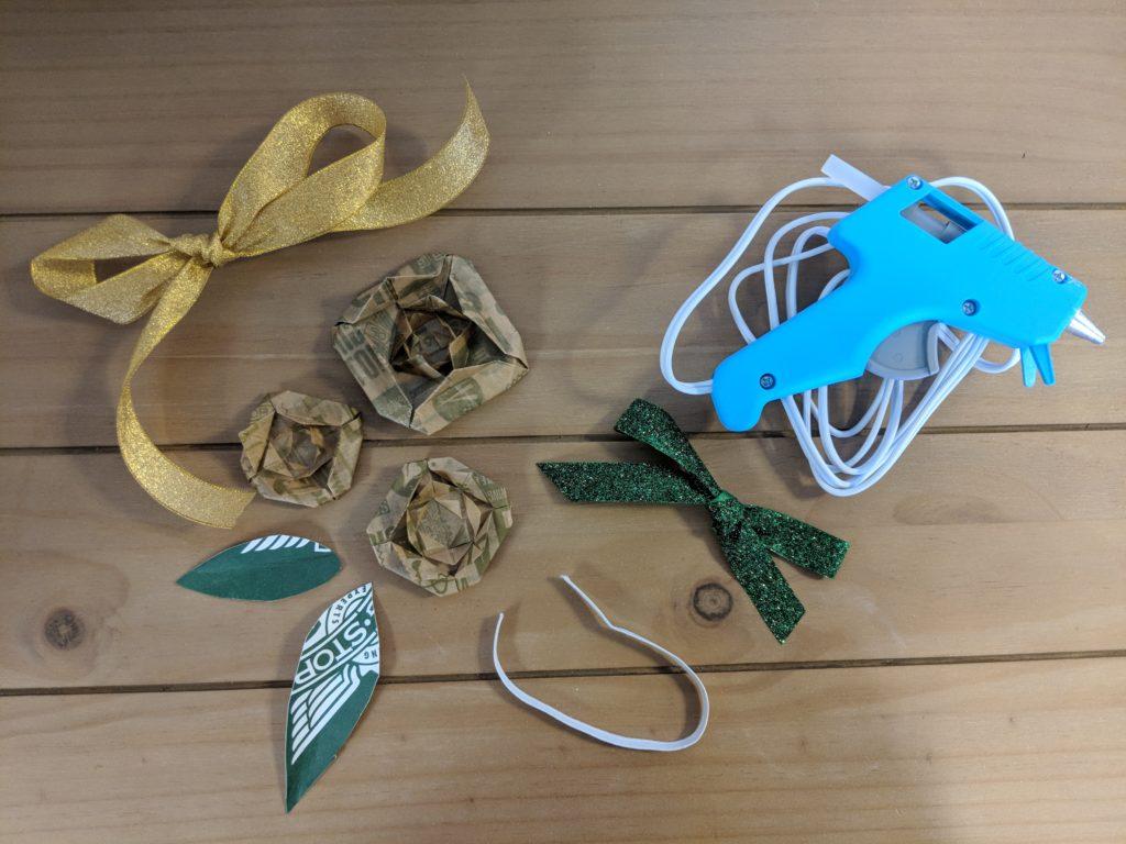 Wingstop DIY corsage