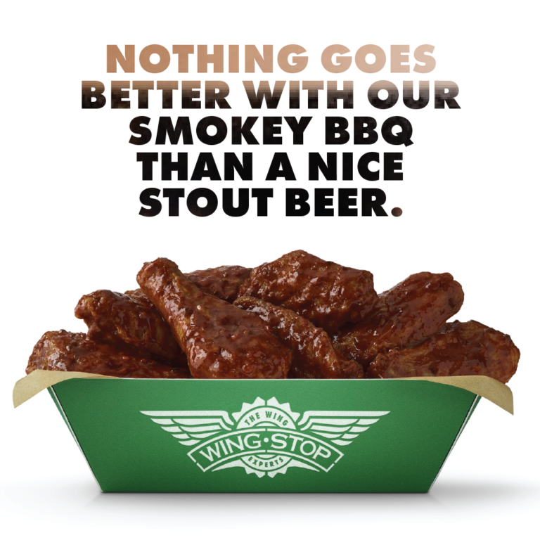 Wingstop Beer Pairing Hickory Smoked BBQ