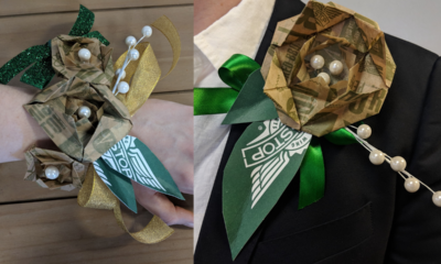 DIY: Give Your Prom Flavor with a Wingstop Corsage or Boutonniere Celebrate prom with Wingstop using this easy step-by-step guide.