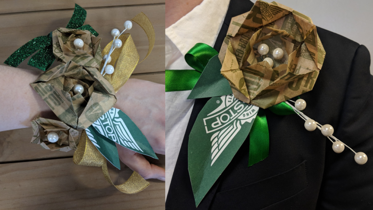 Wingstop DIY Corsage and Boutonniere