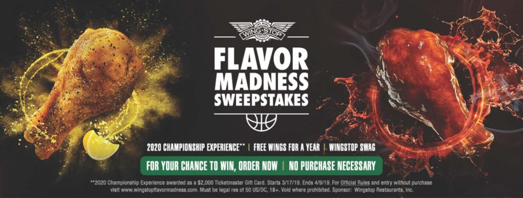 Flavor Madness Makes a Slam Dunk with Awesome Prizes - WINGSIDER