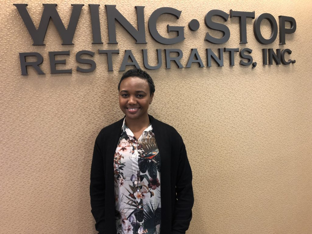 Carla McKinney Wingstop Team Member of the Quarter