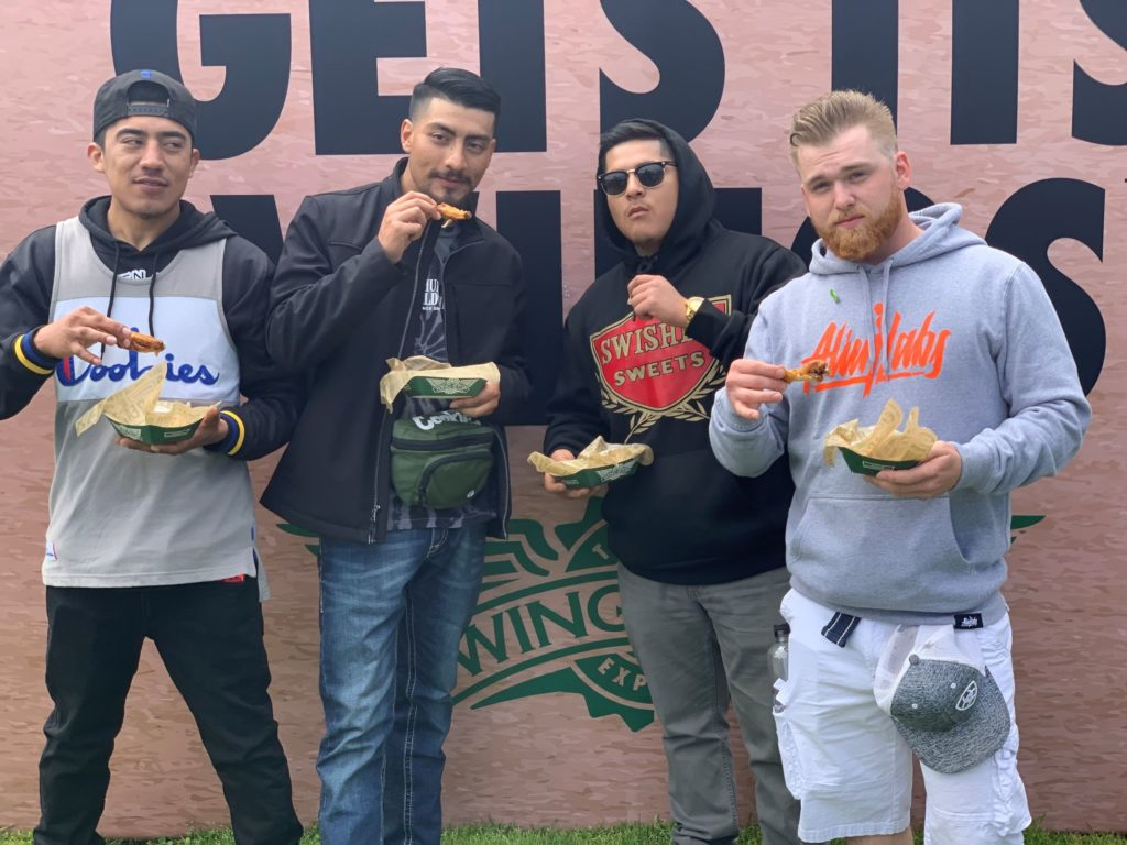 Wingstop at Hippie Hill 420