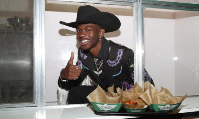[Photos] Lil Nas X Got His Wings in the Back Wingstop is where Old Town Road gets its flavor.