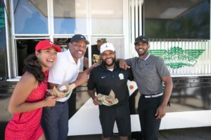 Wingstop and Anthony Anderson Celebrity Golf Classic with Wingstop Truck