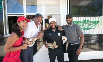 "[Video] Wingstop Delivered ""Birdies"" to the Anthony Anderson Celebrity Golf Classic Free wings gave golfers that ""I just made a hole-in-one!"" excitement."