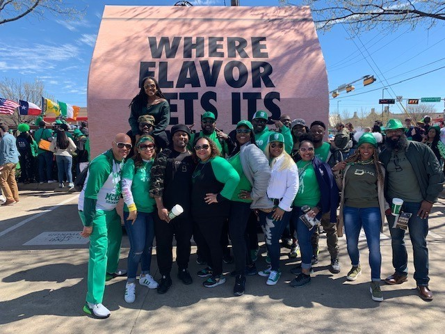 Flavor World Tour Dallas St. Patricks Day Parade