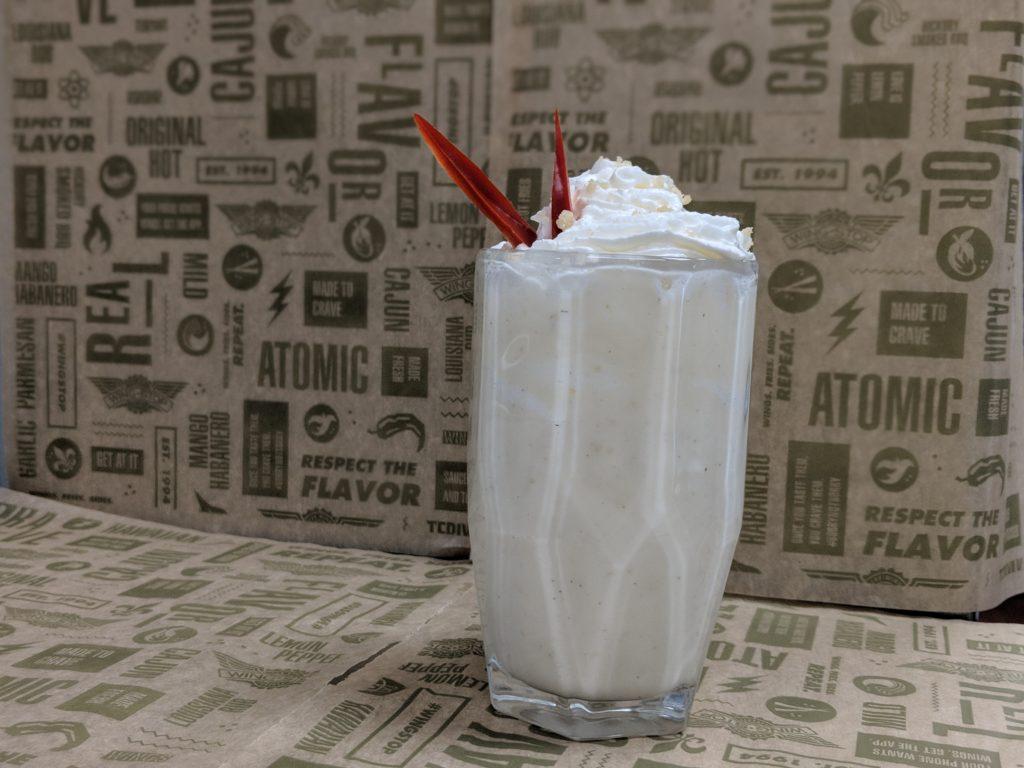 Wingstop Lemon Pepper Milkshake