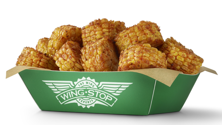 Wingstop Cajun Fried Corn Corn on the Cob Day
