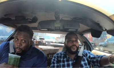 Carpooling with Cool People Eating Wings – Anthony Anderson and Spice Adams Former pro football player squeezes into the '94 corvette for new Hot Lemon and Atomic BBQ flavor remixes.