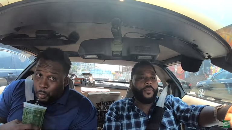 Anthony Anderson and Spice Adams try Wingstop Hot Lemon and Atomic BBQ