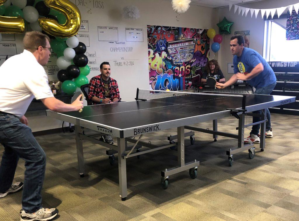 Hangar Games Ping Pong Championship