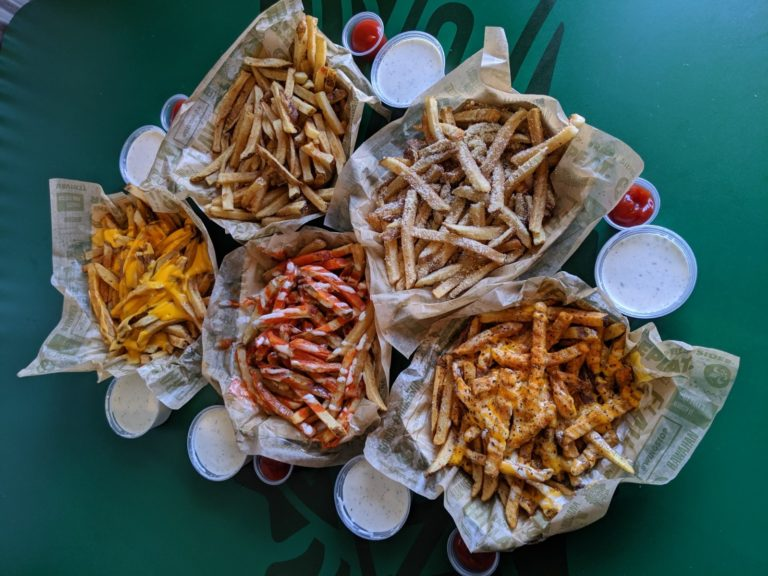 National French Fry Day Variety of Wingstop Fries