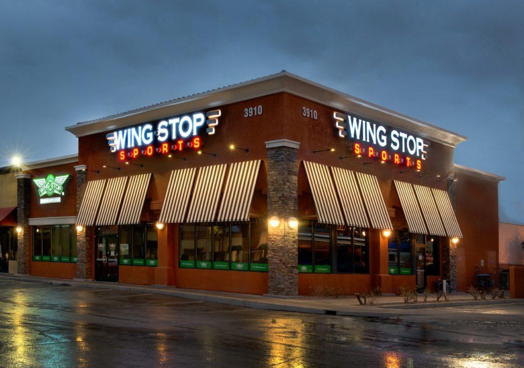 Wingstop Sports location in Las Vegas, Nevada.