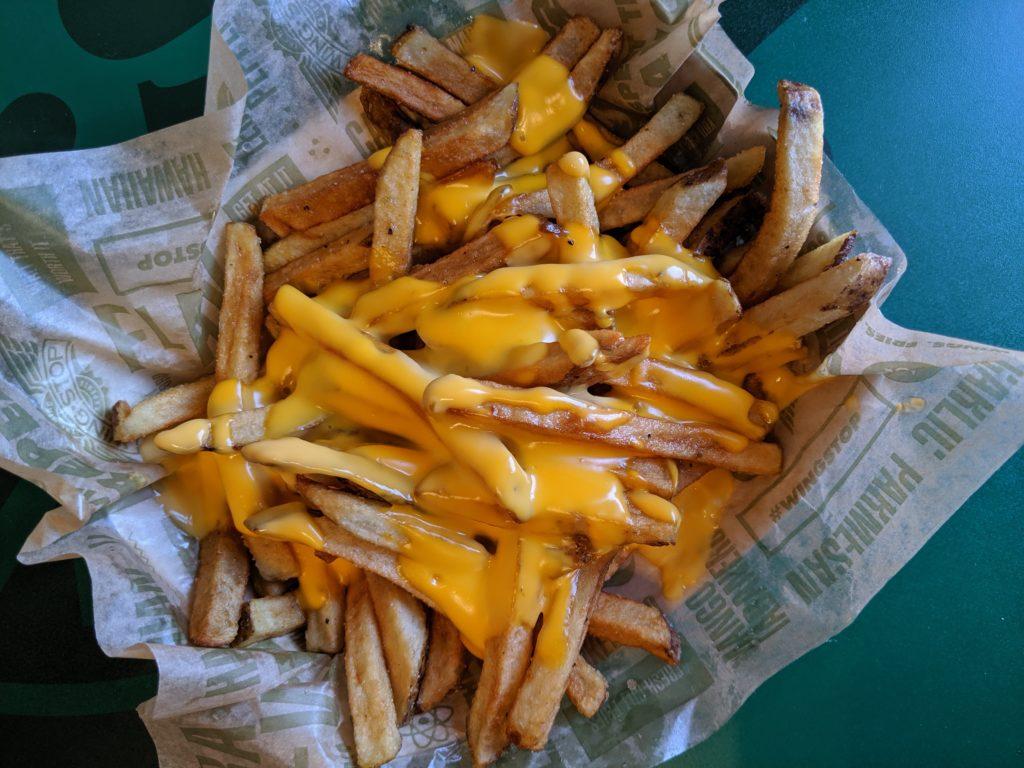 Wingstop Cheese Fries