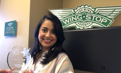 Amanda Paredes Named Team Member of the Quarter Senior Manager of Brand Marketing, Amanda Paredes achieved team member award for the second time at Wingstop!