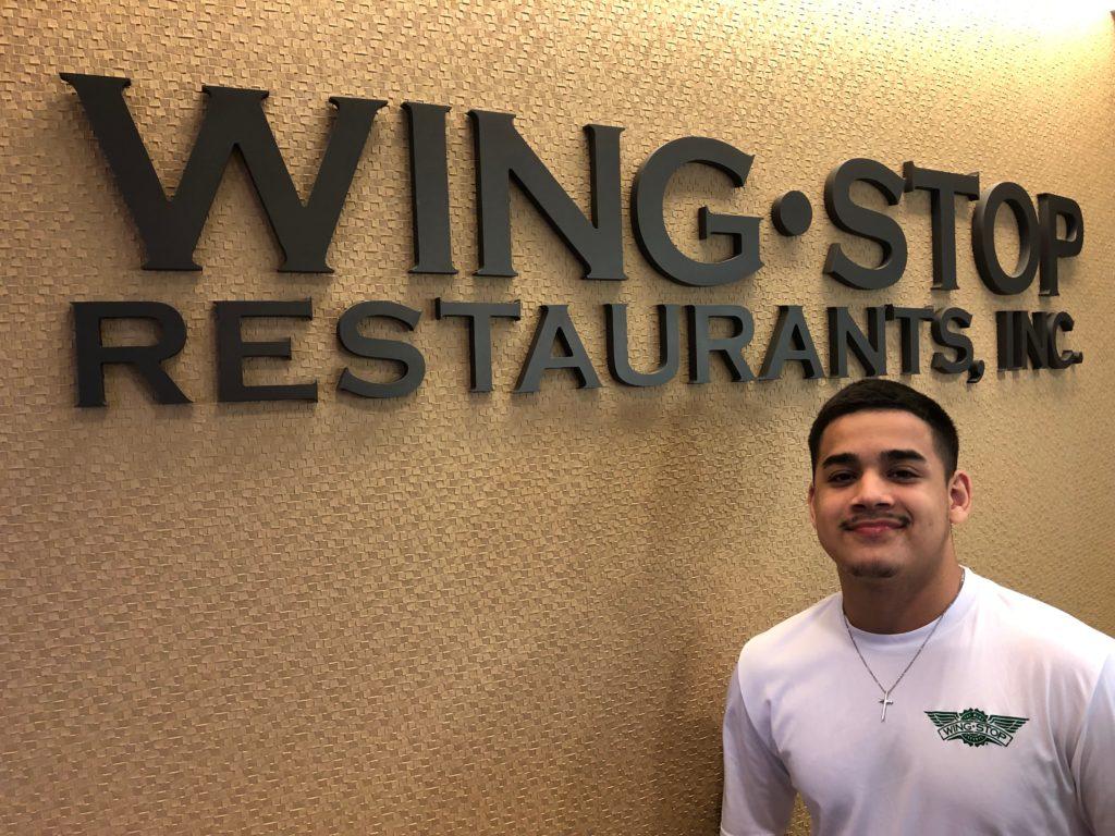 Raymond Cardenas - Wingstop summer 2019 intern.