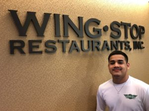 Raymond Cardenas - Wingstop summer 2019 intern.