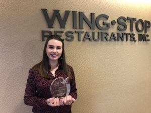 Megan Sprague Wingstop Team Member of the Quarter