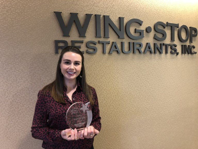 Megan Sprague Wingstop Team Member of the Quarter
