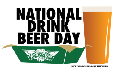 National Drink Beer Day Wings + Beer = The Perfect Pair