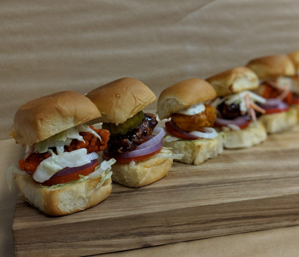 Wingstop Game Day Sliders