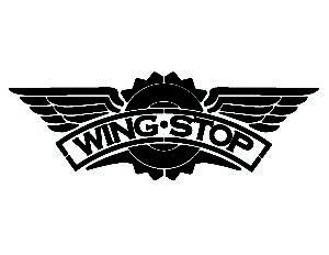 Wingstop Logo Pumpkin Stencil
