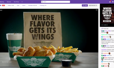 Wingstop Launches Online Ordering Extension with Twitch The Wing Experts bring flavor to Twitch's live-gaming community.