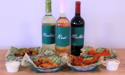 National Drink Wine Day: A Glass of Vino for Every Wingstop Flavor Skip the charcuterie board and grab some wings for your wine night!