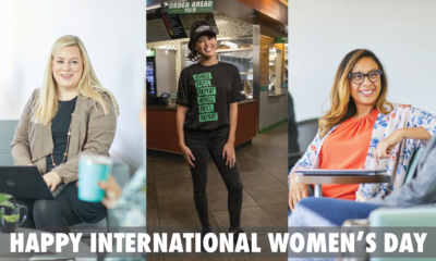Celebrating Wingstop Women on International Women's Day!