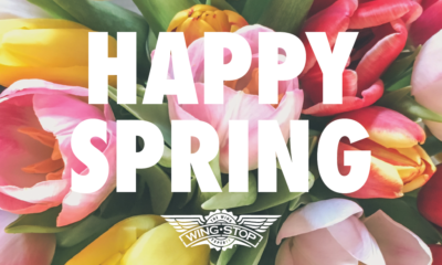 Celebrate Spring with Social Distancing Wingstop offers a list of quarantine-friendly activities.