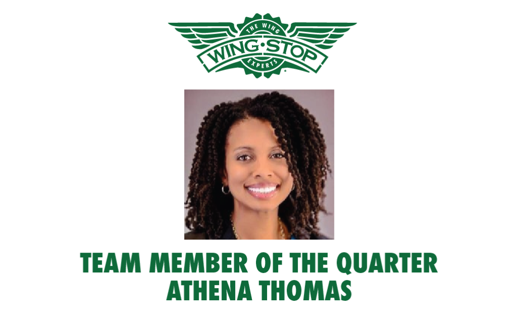 Team Member of the Quarter Athena Thomas V2