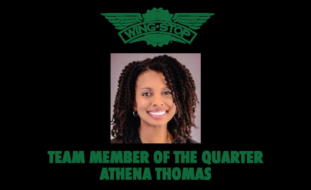 Team Member of the Quarter Athena Thomas V2