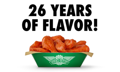 26 Years of Serving the World Flavor A brief history of Wingstop.