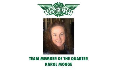 Celebrating Team Member of the Quarter – Karol Monge Senior trainer, brand standards achieves team member award at Wingstop!