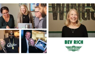 A Flavorful Farewell to Bev Rich Wing Expert Retires After 15 Years With Wingstop
