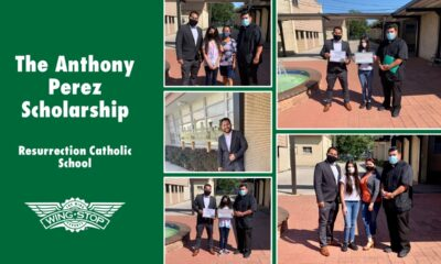 Wing Expert Provides Scholarship for Two Deserving Students Anthony Perez personally funds scholarship for students in his hometown.