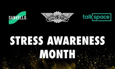 Stress Awareness Month: How Wing Experts Cope with Stress Wingstop partners with TalkSpace and Sanvello