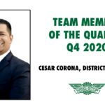 Celebrating Team Member of the Quarter – Cesar Corona